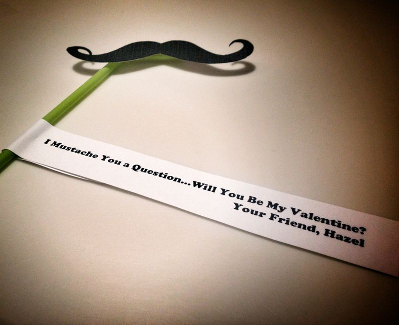 Hazel Valentine Mustache